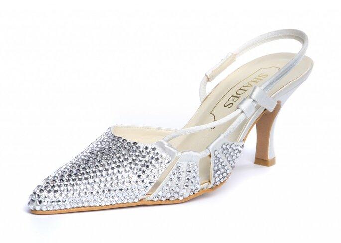 Los cristales Swarovski le darán un toque inigualable a tus zapatos de novia