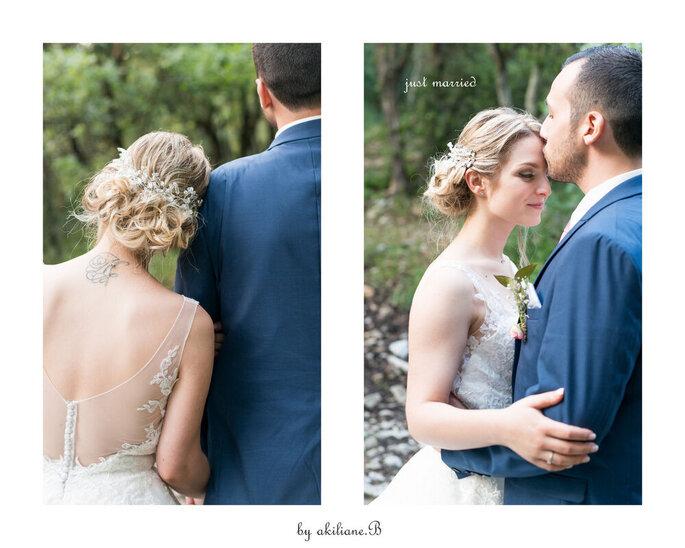 Séance photo de couple - photos de mariage