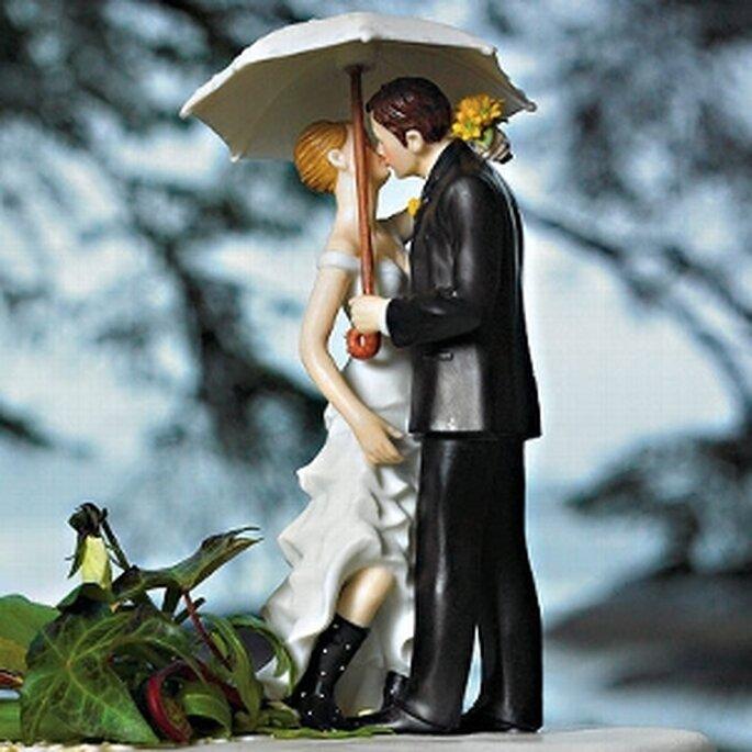7 Gemeinsam im Regen stehen ...