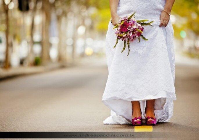 Tendencia en ramos de novia 2012. Fotografía Andrea Paccini