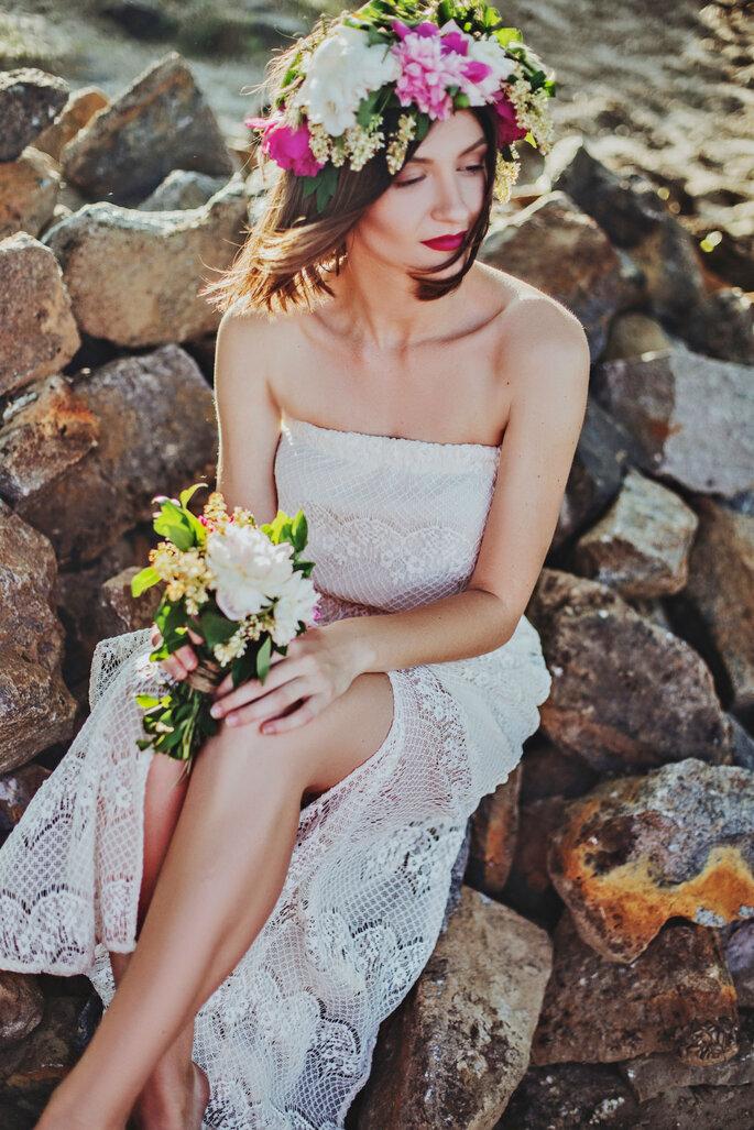 Peinados de novia con el pelo corto