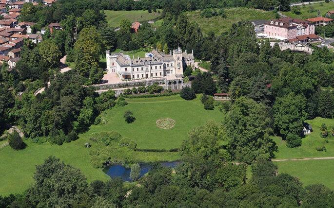 Замок Castello dal Pozzo