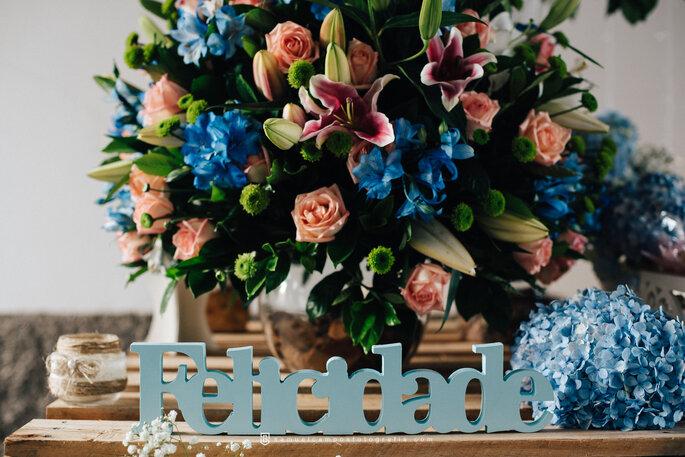 Flores decoração casamento