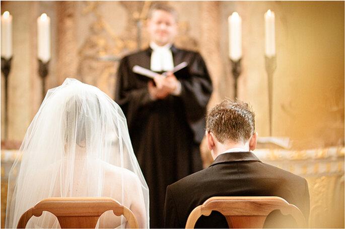 Trauzeremonie in der Frauenkirche - Foto: Torsten Hufsky.