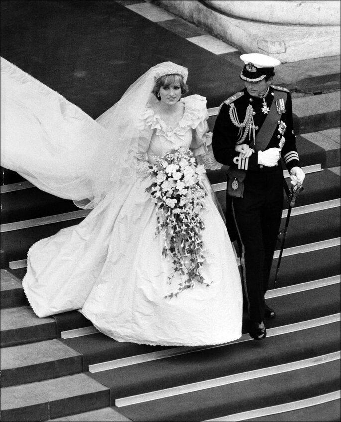 Diana de Gales y Carlos de Gales. Foto: Gtres
