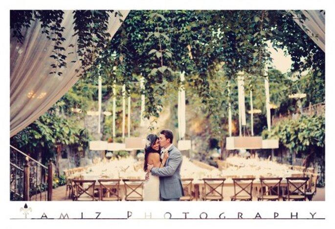 La boda elegante de Dane y Anise en Haiku Mill - Foto Tamiz Photography
