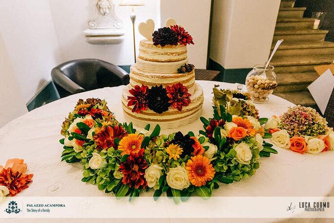 Palazzo Acampora - dolci e torta nuziale