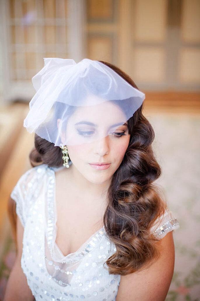 Inspiración para elegir el peinado perfecto de novia - Foto Catarina Zimbarra