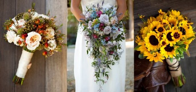 Ramos de novia para verano y otoño - Foto Haute Horticulture