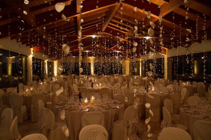 Hotel Spa & Golf Valle di Assisi - allestimento di nozze ricevimento