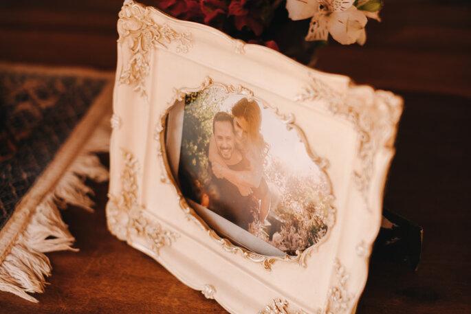 porta-retrato decor casamento