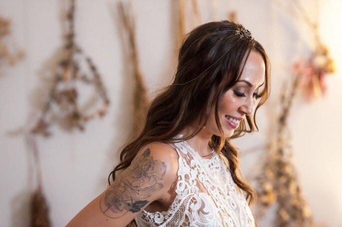 Vestido: Casamarela Noivas   Foto: Thiago Okimoto