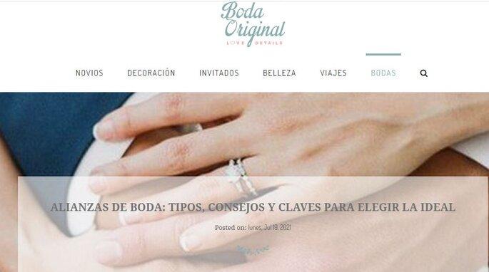 blog Una boda original