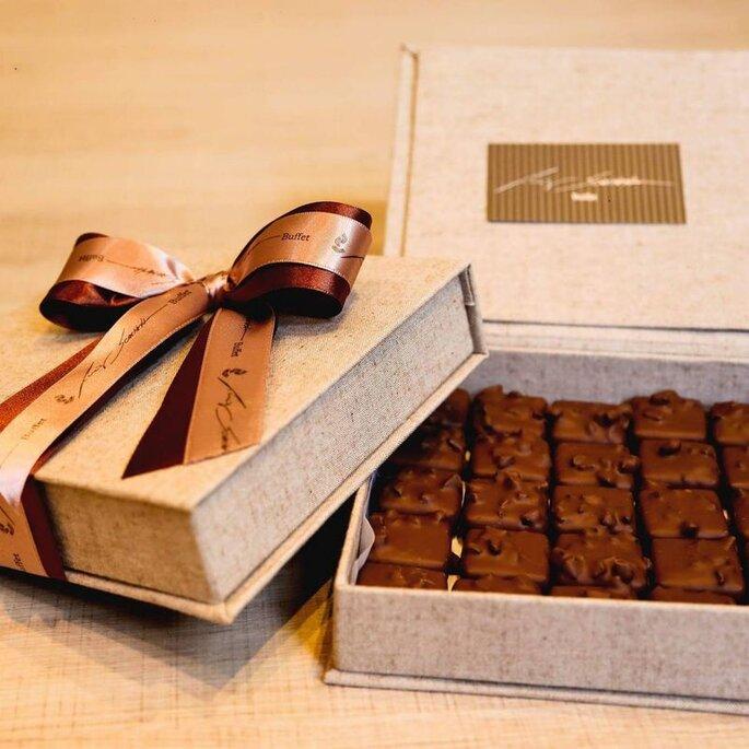 Caixinha de chocolate personalizada