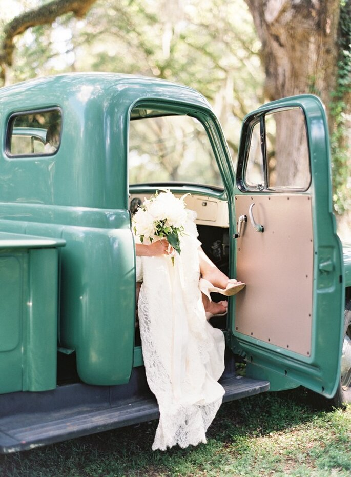 Una boda con detalles country - Foto Landon Jacob