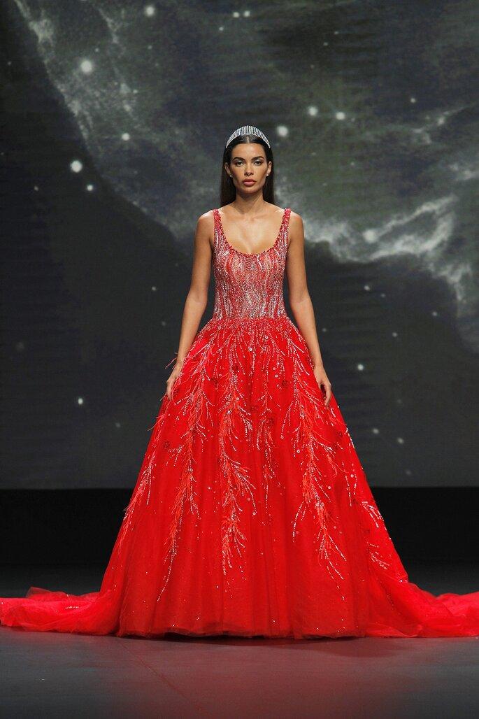 Abiti da sposa Demetrios 2021 rosso