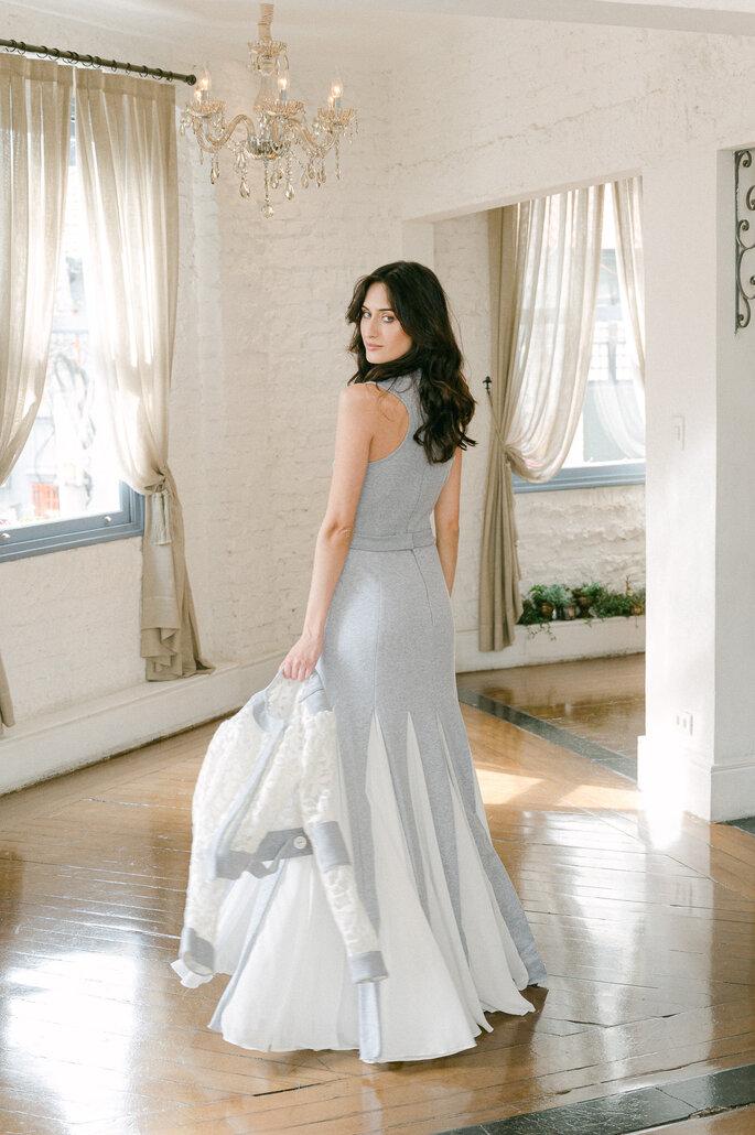vestido de noiva moletom Karen Rodrigues