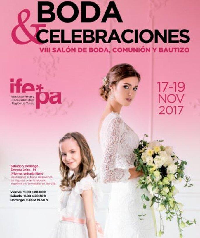 IX Salón Boda y Celebraciones 2017: Tu encuentro nupcial en Murcia