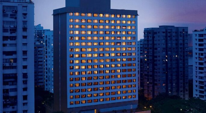 Hotel: Vivanta by Taj President Mumbai.