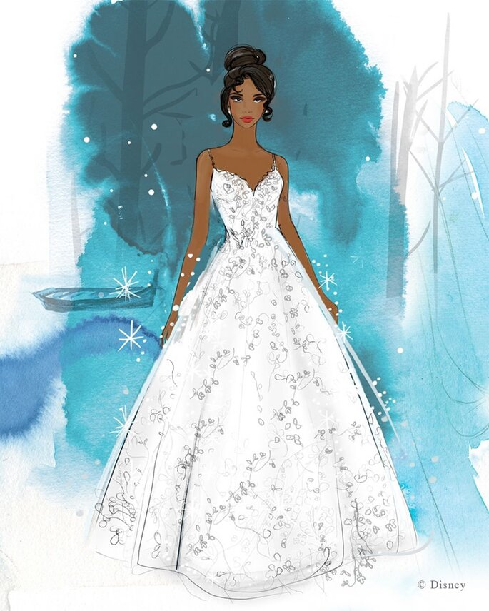 Allure Bridals princesas da Disney