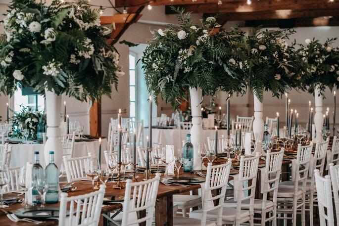 Hochzeitsdekoration Hochzeitssaal