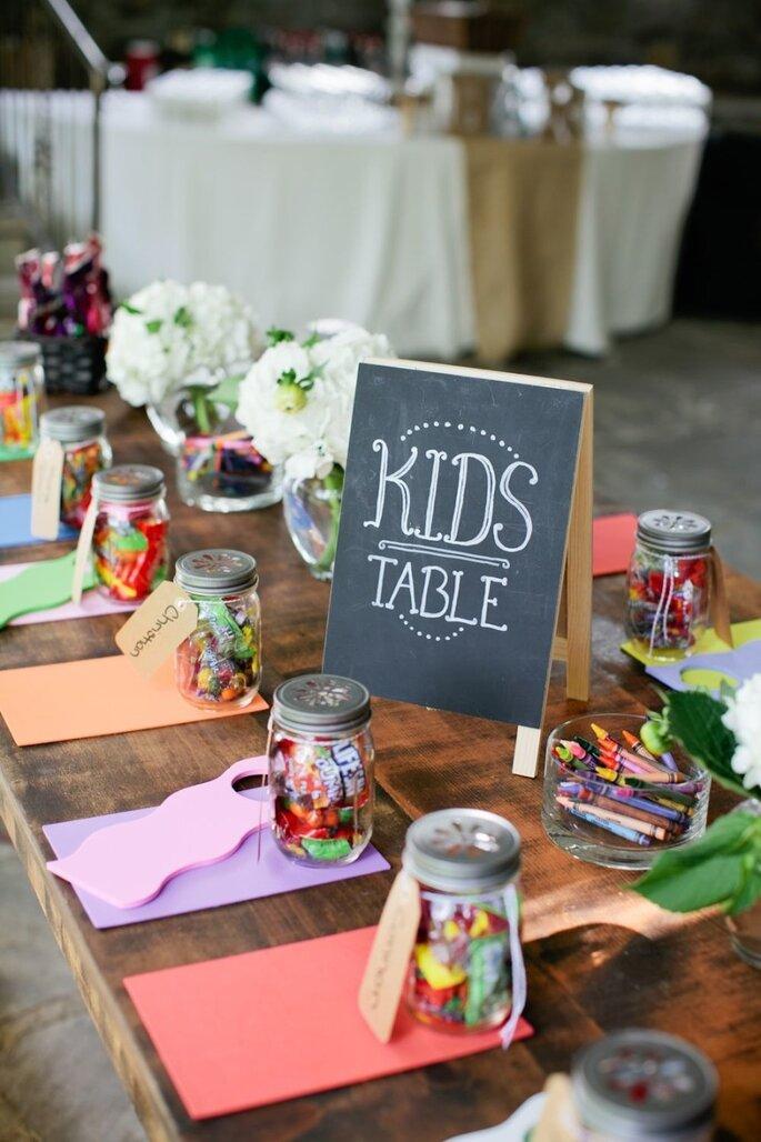 Entretener niños en tu boda - Kristyn Hogan