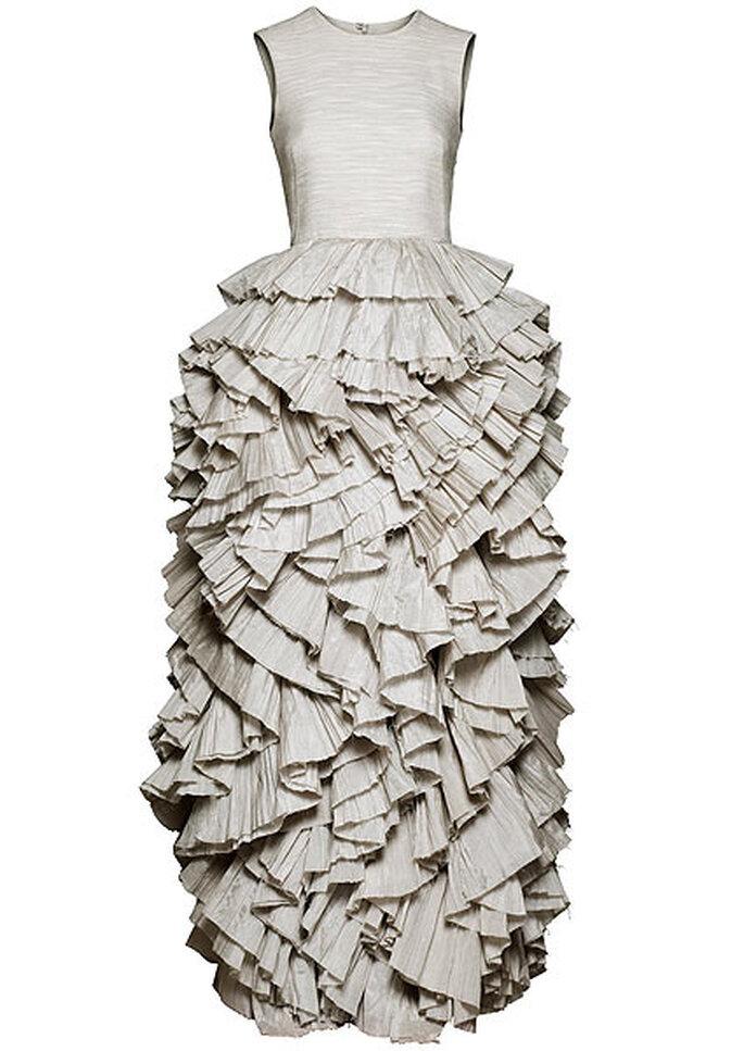 Un vestido de novia en la Conscious Collection de H&M. Foto: H&M