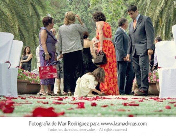 Auch den Hochzeitsgästen gefällt's - Foto: Mar Rodriguez für lasmadrinas.com