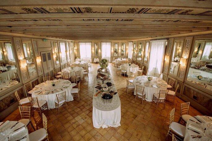 Casina Valadier - sala al secondo piano