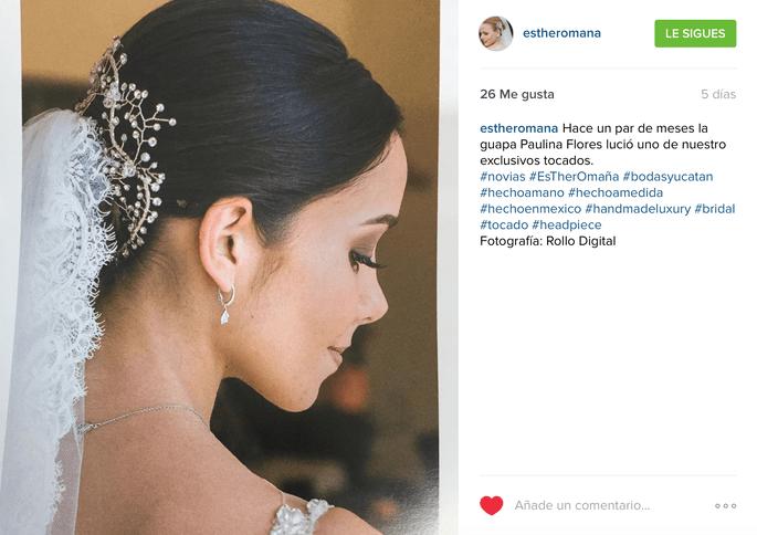 Esther Omaña Instagram