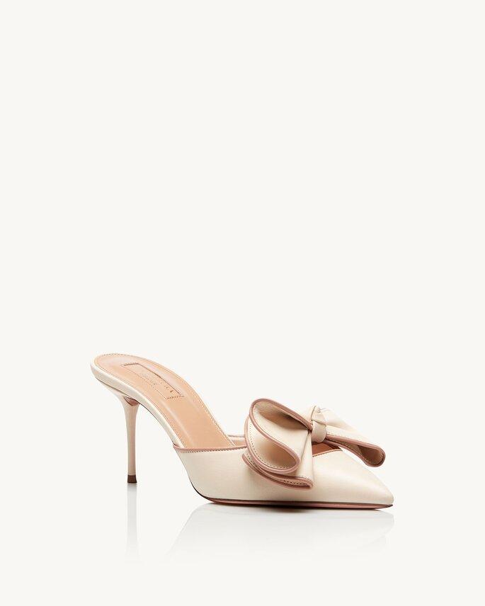 Chaussures de mariée fermées petits talons