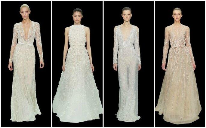 Suggestions pour une mariée sophistiquée et élégante : Elie Saab. Haute Couture Resort 2013. Photo www.eliesaab.com