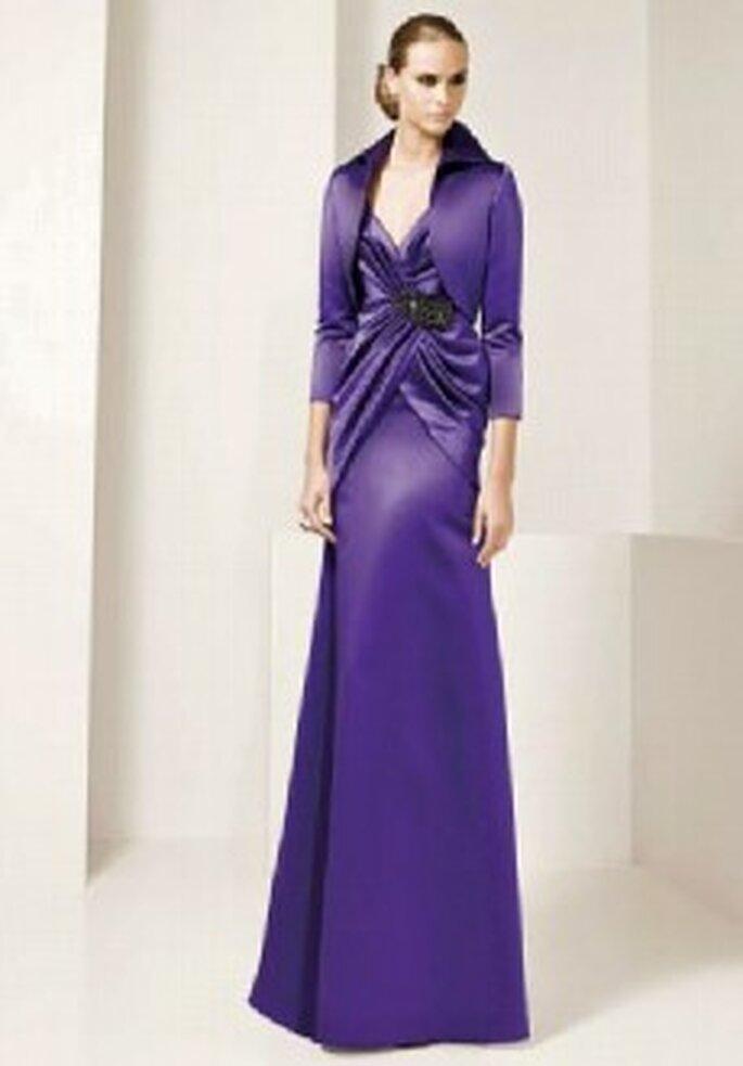 Vestidos Pronovias para invitadas a bodas de invierno
