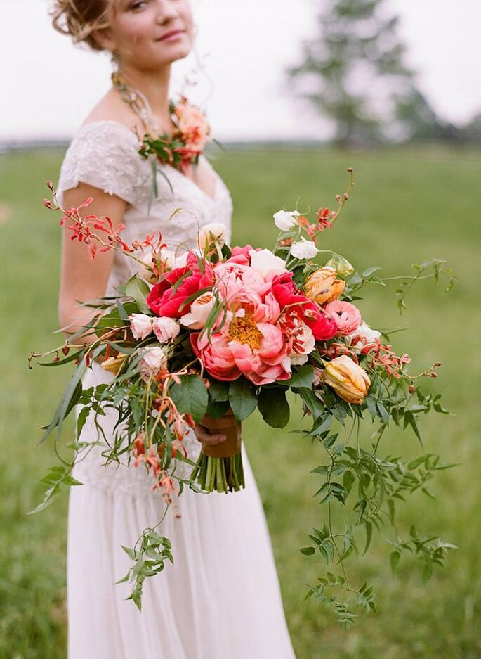 Once Wed. Foto: Southern Blooms by Pat's Floral Designs