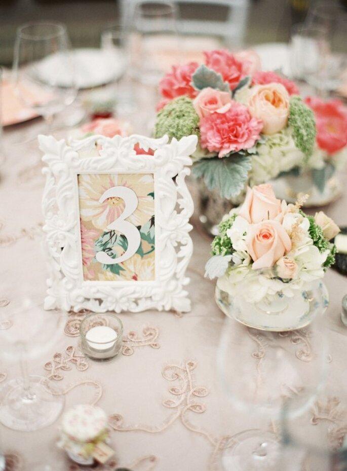 Bezaubernde Dekoration für Ihren Hochzeitstisch - Foto Lani Elias Fine Art Photography