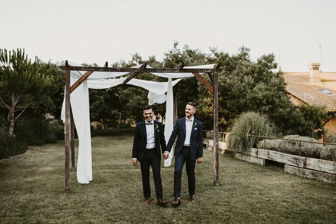 pareja boda gay