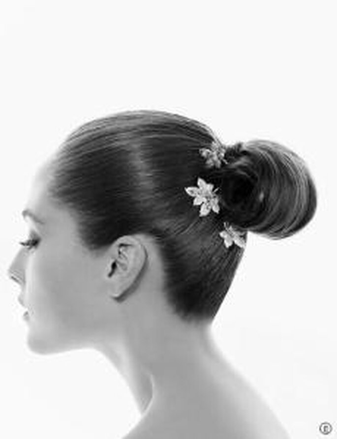 Rosa Clara -2010 Coiffure sur la thématique florale