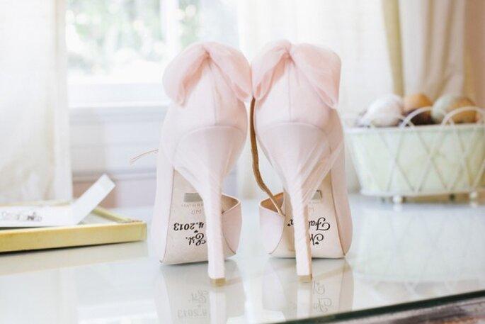 Tendencias en zapatos de novia 2015 - Foto Paige Winn Photography