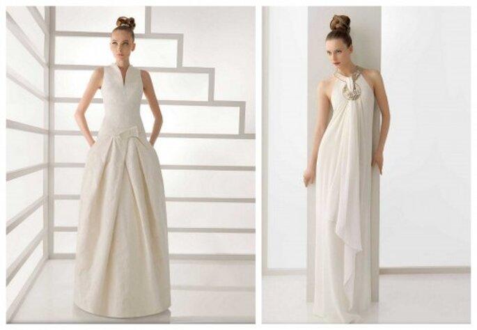 suknie ślubne z kieszeniami z kolekcji 2012