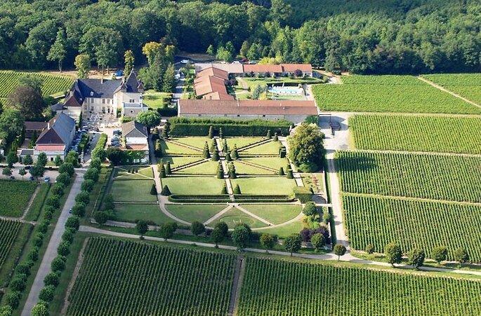 Le Château Pizay, lieu de réception dans le Rhône
