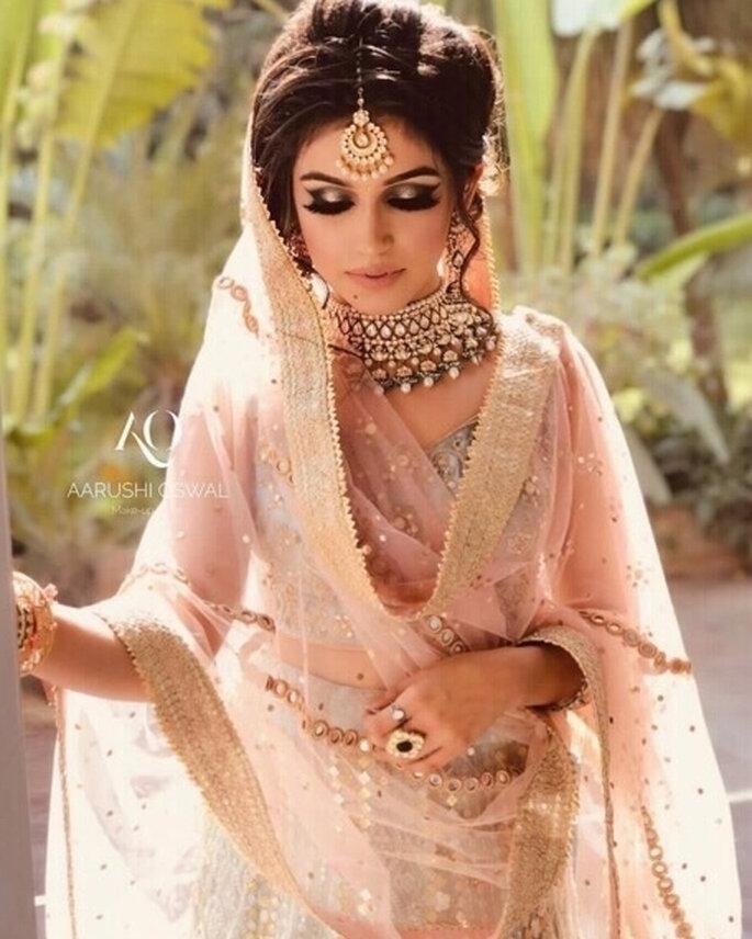 Credits: Aarushi Makeup Artist