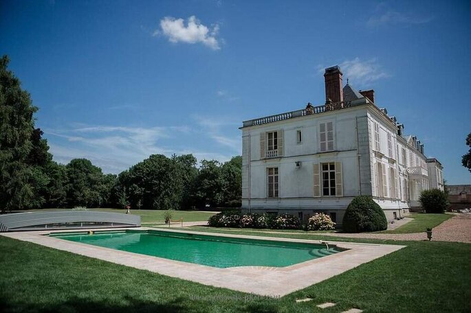Lieu de réception avec piscine dans les Yvelines