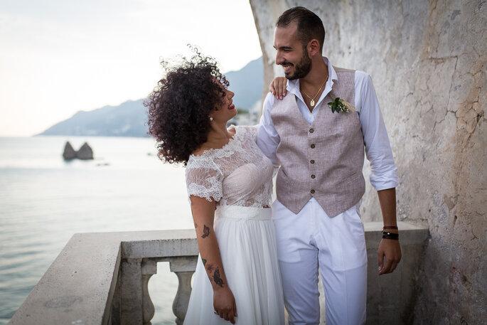 Le nozze di rose di Francesca e Fabio