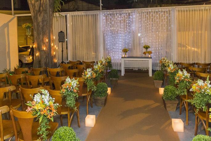 Ambiente para cerimônia