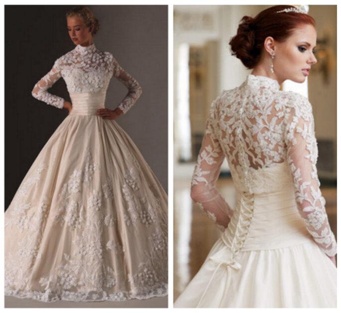 Inspiración para novias que quieran ir como Kate Middleton