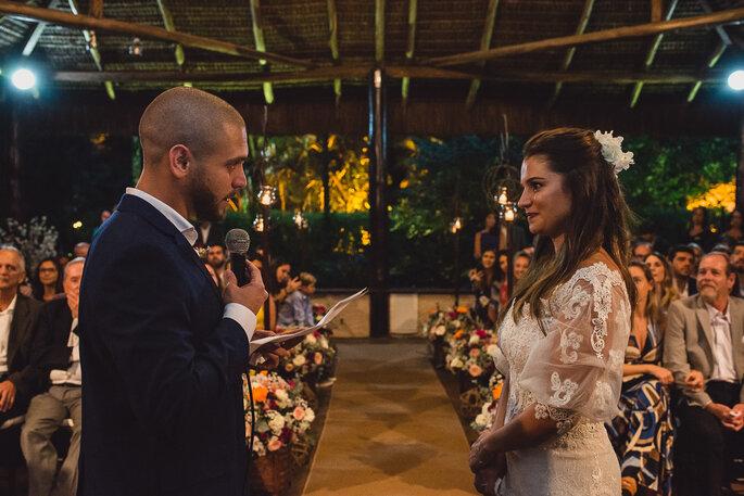 troca de votos noivos