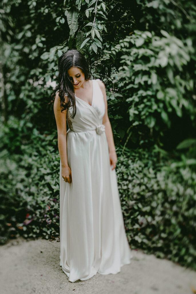 vestido de noiva customizado