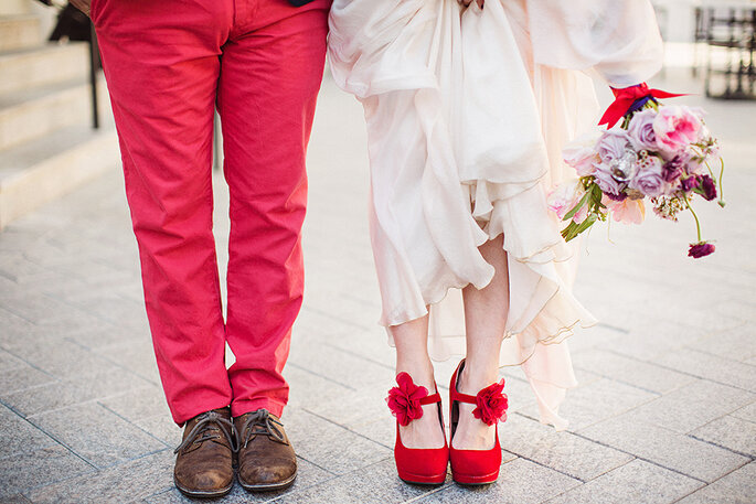 Green Wedding Shoes. Foto: Izzy Hudgins Photography