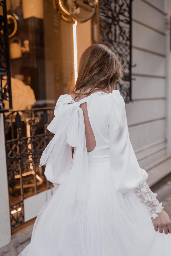 Tulle Rouge Atelier diseñador de novia Madrid