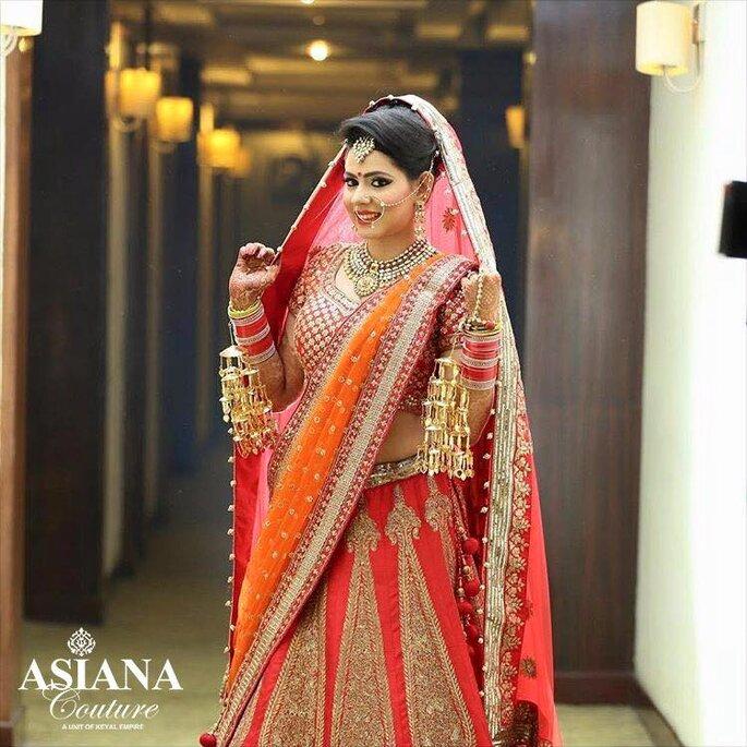 Bridal Lehnga: Asiana Couture.